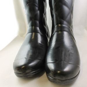 Excellent Womens Hunter Sandhurst Savoy Black Wellington Boots  UK Size 7  Ex