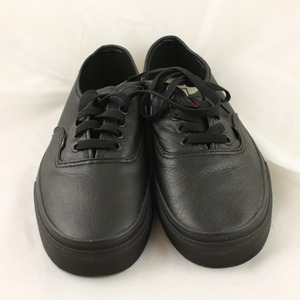 vans authentic leather black mono exclusive